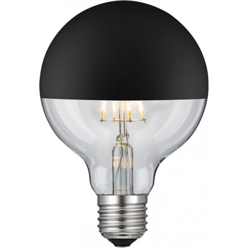 Λάμπα Cog Led Half Black Globe Ø95...