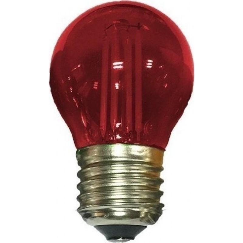 Λάμπα Led COG 4W E27 Κόκκινο