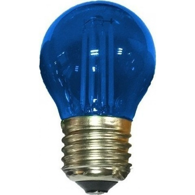 Λάμπα Led COG 4W E27 Μπλε
