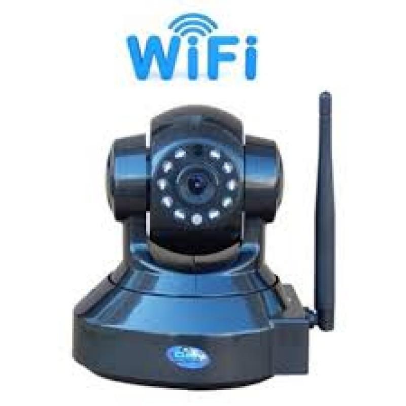 Wifi Pan Tilt H264 IP κάμερα PTZ I...